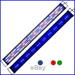 Super Bright LED Aquarium Light Fits Coral Fish Plant Saltwater Freshwater in in
