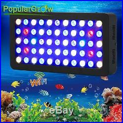 WIFI Dimmable165W LED Aquarium Light Full Spectrum Freshwater Reef Coral Plant